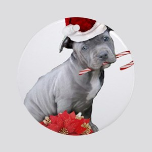 Pitbull Christmas Ornament.Christmas Pitbull Ornaments Cafepress