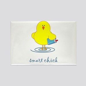 Smart Chick Rectangle Magnet