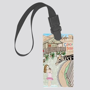 Covercolor2 Large Luggage Tag