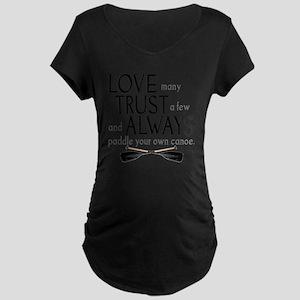 love many Maternity Dark T-Shirt