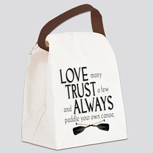 love many Canvas Lunch Bag