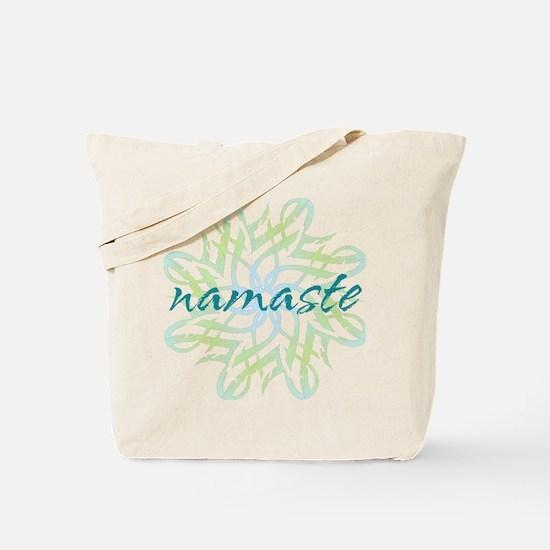 namaste_cool_trnspt_logo Tote Bag