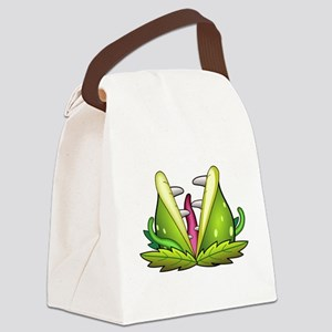 venus flytrap monster Canvas Lunch Bag