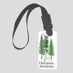 2-decisions Small Luggage Tag