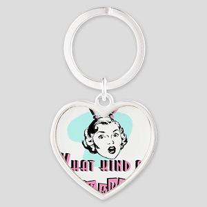 2-fuckerytshirt Heart Keychain