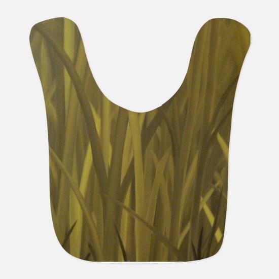 Autumn Grass - oil on canvas FULL Bib