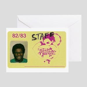larry garage ID Greeting Card