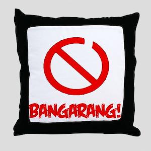 No Pirates Throw Pillow