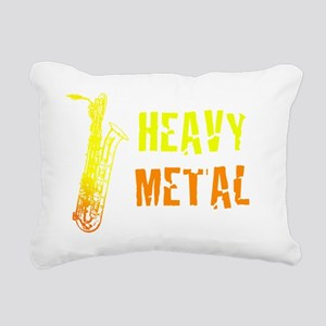 Heavy Metal Rectangular Canvas Pillow