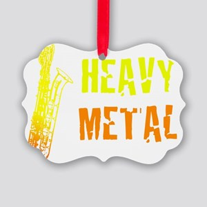 Heavy Metal Picture Ornament