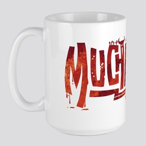 Muchachos Red Logo Large Mug