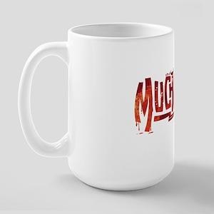 Muchachos Red Logo Large Mug