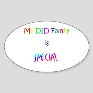 DID Special Sticker (Oval)
