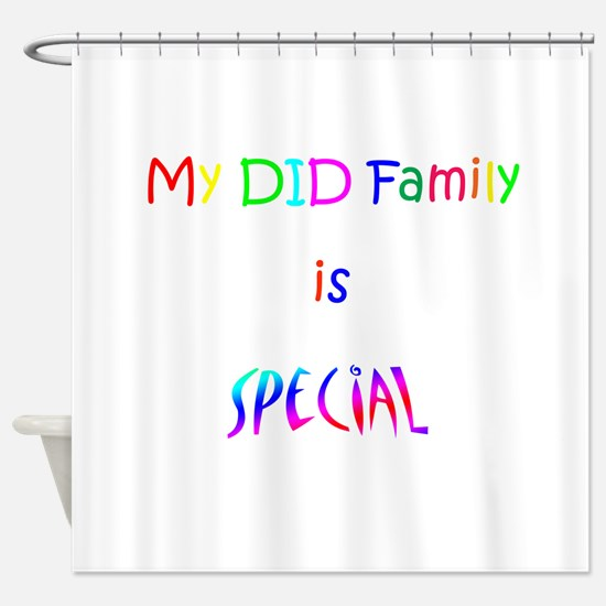 DID Special Shower Curtain