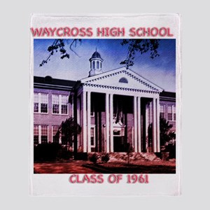 WAYCROSS HI _canvus Throw Blanket