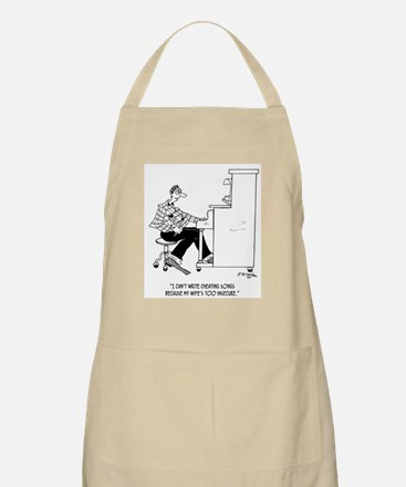 Can't Write Cheating Songs Apron