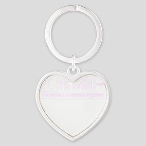 pierced genitals Heart Keychain