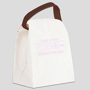 pierced genitals Canvas Lunch Bag