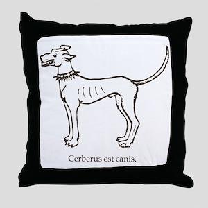 Cerberus2 Throw Pillow