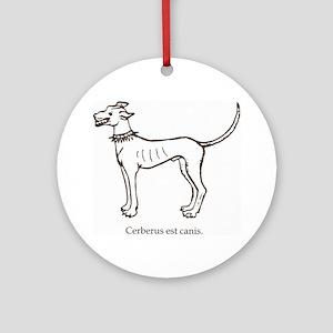 Cerberus2 Round Ornament