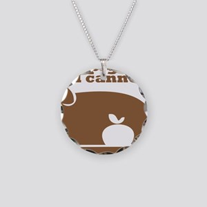 pig butts Necklace Circle Charm