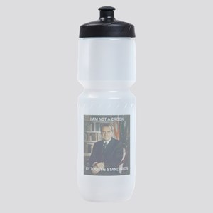 i am not a crook Sports Bottle