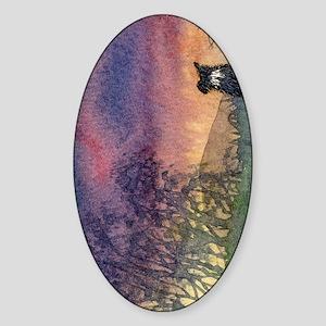 Summer dreams Sticker (Oval)