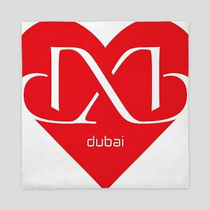 Heart Dubai Queen Duvet