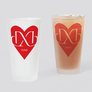 Heart Dubai Drinking Glass