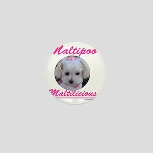 malti-licious_300dpi copy Mini Button