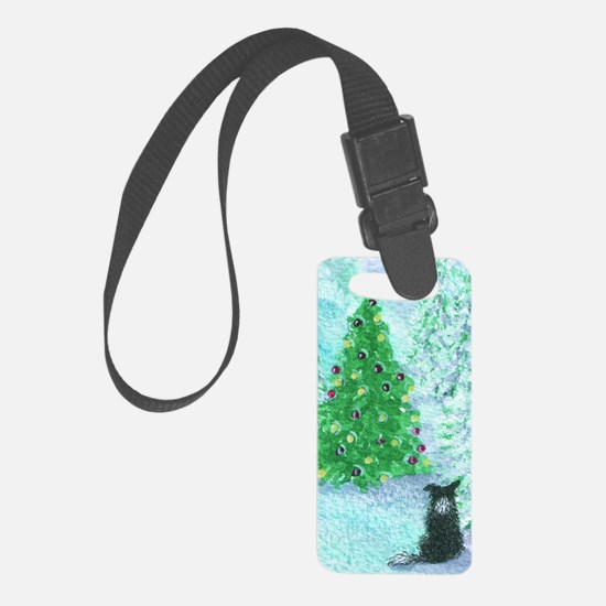 When Christmas trees were tall Luggage Tag