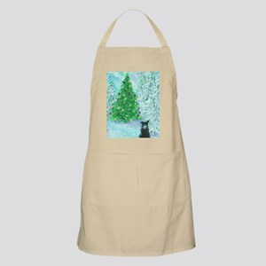 When Christmas trees were tall Apron