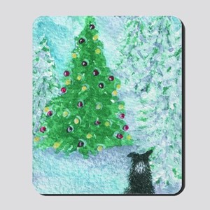 When Christmas trees were tall Mousepad