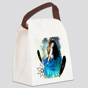 CAFEPRESSblue Canvas Lunch Bag