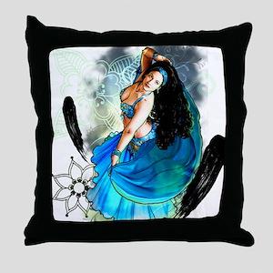 CAFEPRESSblue Throw Pillow