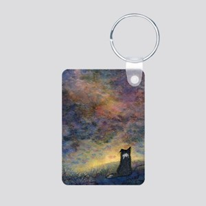 New day dawning Aluminum Photo Keychain
