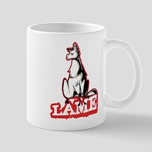 Llama disapproves Mugs
