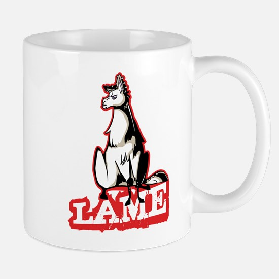 Llama disapproves Mugs