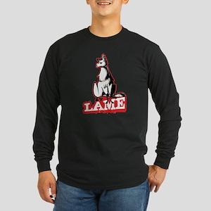 Llama disapproves Long Sleeve T-Shirt