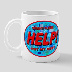 Help Pay My Debt Mug