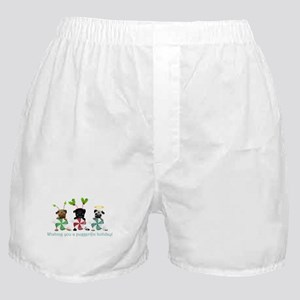 Have A Puggerific Holiday Boxer Shorts