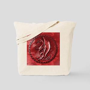 RedCelticDragonMousepad Tote Bag