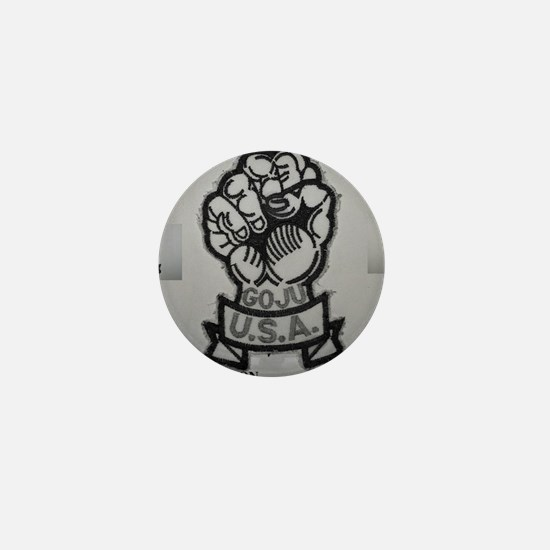 Goju Ryu Mini Button
