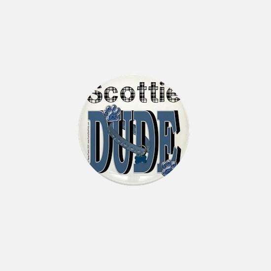 Scottie DUDE Mini Button