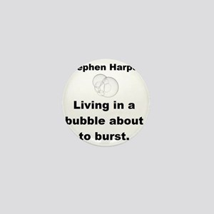 Copy of living in a buble small Mini Button