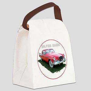 SilverHawk-C8trans Canvas Lunch Bag