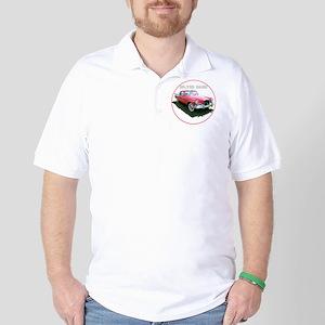 SilverHawk-C8trans Golf Shirt