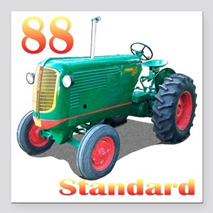 "Oliver88Std-10 Square Car Magnet 3"" x 3"""