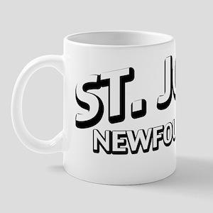 St Johns, NL Mug