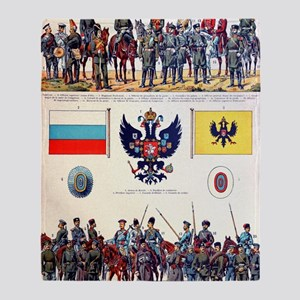 Russian Military Throw Blanket